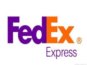 FedEx for sino stone's sample