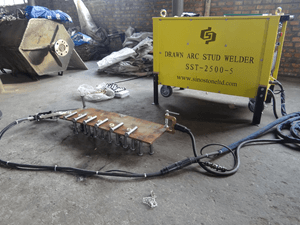 Thyristor Drawn Arc Stud Welder