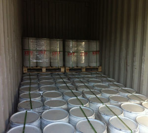 Barrel in container