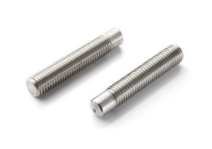 Threaded stud welding