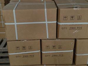 Ceramic ferrule packaged ready