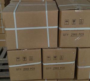 Ceramic ferrule packaged by carton