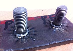 PF Ceramic Ferrule welding display