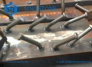 Bend testing shear stud