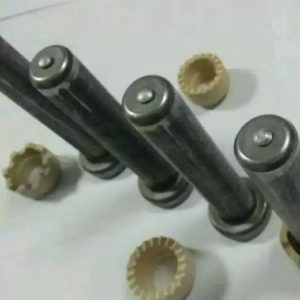 Shear stud ceramic ferrule with chamfer