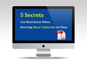 5 secrets sourcing shear connector