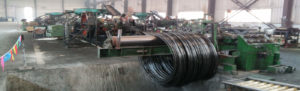 Producing line of shear connector-banner