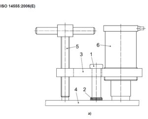 Shear connector tensile testing a