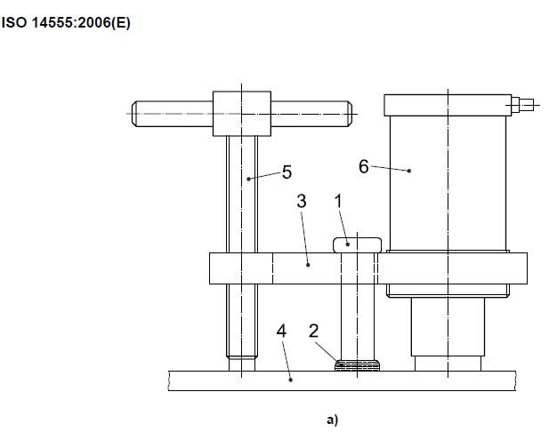 Shear connector tensile testing a
