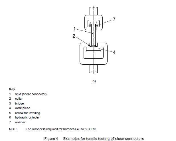Shear connector tensile testing b